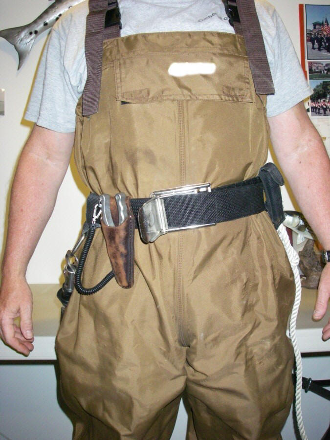 Waders fishing gear images for Wade fishing belt