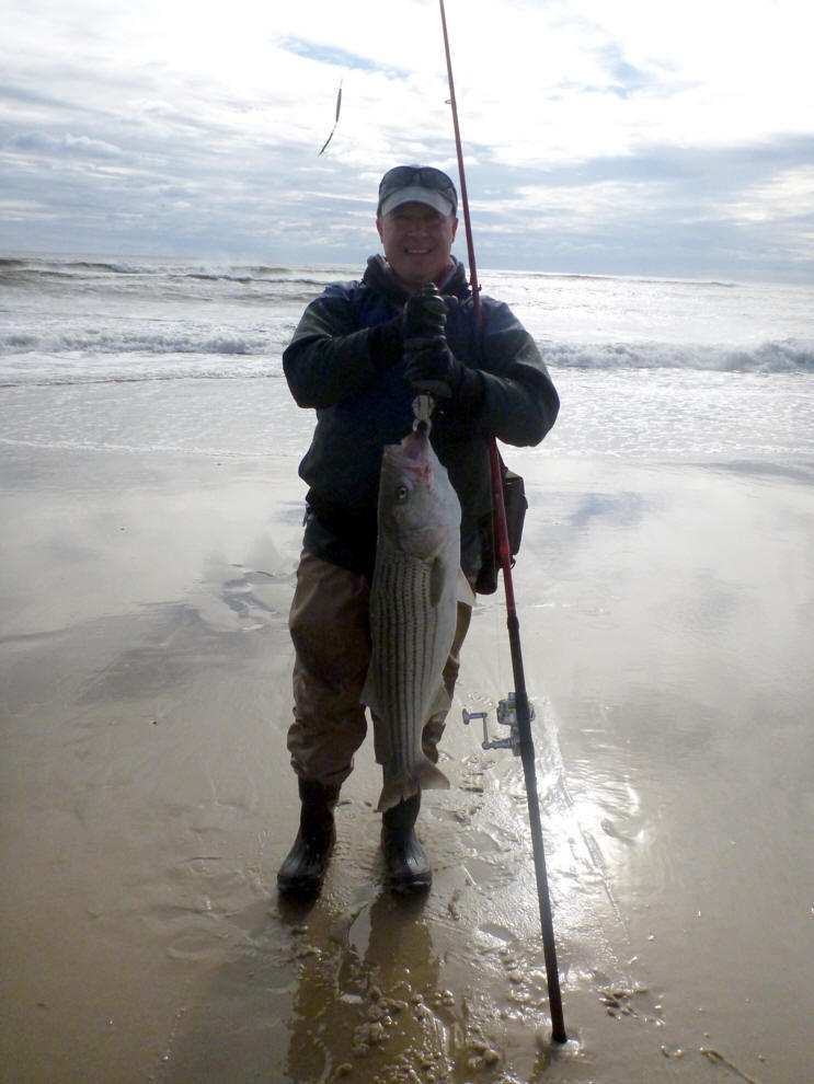 Guide services for Surf fishing waders